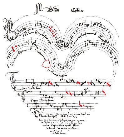 The Musical Heart  by Baude Cordier